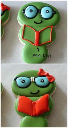 Bookworm Cookies 8