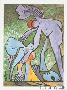 Pablo Picasso - Rettung einer Ertrinkenden