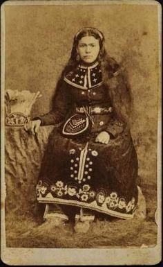 Iroquois (Seneca) woman - circa 1880