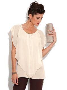 Nueva Era Informativa Si te encanta estar a la moda y con estilo no debe de faltar en tu closet una de estas opciones en blusas asimétr...