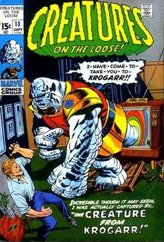 Creatures on the Loose # 13 by Jack Kirby, Dick Ayers & Marie Severin