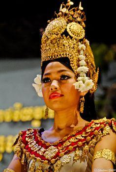 Apsara Dancer, Cambodia