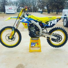 Albertson Racing 2016 Suzuki For Sale Mx Bikes, Motocross Bikes, Sport Bikes, Four Wheelers, Dirt Biking, Dual Sport, Dirtbikes, Custom Bikes, Motorbikes