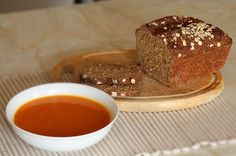 Homemade Butternut Squash Soup & Brown Irish Soda Bread