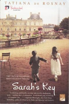 Sarah's Key...amazing story.  Could not stop reading.