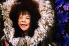 USA, Alaska, Barrow, Inupiat boy(4-6) in traditional parka