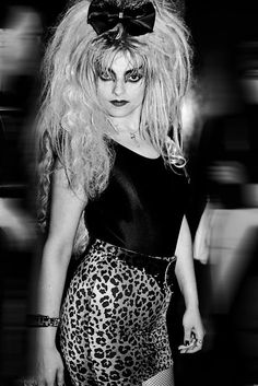 Nina Hagen, 1980s (Photo by John Simone)
