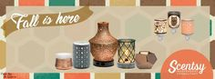 Scentsy Fall/Winter 2016 Products Facebook Banner https://charneff.scentsy.us