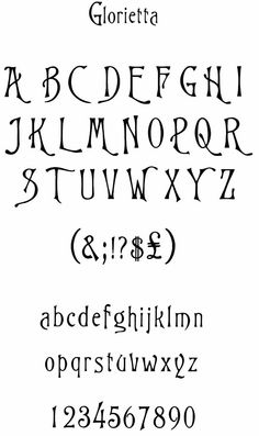 "Glorietta font Suitable for embroidery from Dover Publication Victorian Display Fonts CD-ROM and Book"" Hand Lettering Alphabet, Doodle Lettering, Creative Lettering, Lettering Styles, Calligraphy Alphabet, Calligraphy Fonts, Typography Fonts, Lettering Design, Alphabet Fonts"