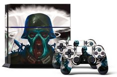 Special Offers - PS4 Console Designer Skin for Sony PlayStation 4 System plus Two(2) Decals for: PS4 Dualshock Controller Zombie Trooper Review - In stock & Free Shipping. You can save more money! Check It (October 28 2018 at 09:44PM) >> gamingheadsets.in...