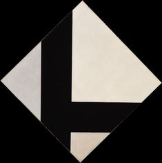 Counter-Composition VIII by Theo van Doesburg Davos, Bauhaus, Noir Ebene, Theo Van Doesburg, Modern Art, Contemporary Art, Francis Picabia, Abstract Geometric Art, Black And White Painting
