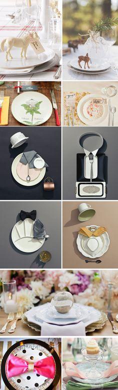 婚宴餐桌擺飾大賞 - 精緻創意
