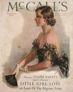 neysa mcmein | 1932 McCall's Magazine Cover ~ Neysa McMein, Vintage Magazine Covers