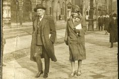 Joseph and Frederike (Friedl) Roth in Berlin (1920's)