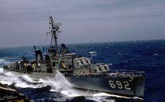 USS Allen M Sumner (DD-692) Allen M. Sumner-class destroyer2,200 tons  26 January 1944 Scrapped 1974