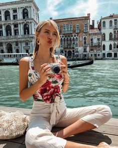 Leonie Hanne in Venice Italy Vacation, Italy Travel, Ohh Couture, Business Pictures, Leonie Hanne, Italy Outfits, Queen Outfit, Vacation Outfits, Summer Travel