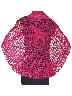 The Yuet Shawl crochet pattern download from AnniesCraftStore.com. Order here: https://www.anniescatalog.com/detail.html?prod_id=125568&cat_id=24