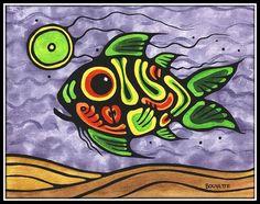 Spiri Fish by Ayla Bouvette