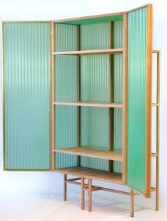 Dik Scheepers Corrugated PVC cabinet