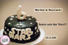 Sweet Cucas and Cupcakes by Rosângela Rolim: Mini Bolo de Mesversário - tema Star Wars