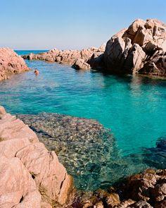 Cala Cipolla Chia Bay Southern Coast Of Sardinia Italy Sob O Sol Da