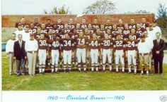 1960 Cleveland Browns