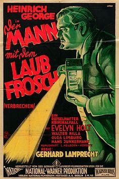 Eröffnung 2. STUMMFILMTAGE HAMBURG im METROPOLIS Kino: Ein prima Film (DER MANN MIT DEM LAUBFROSCH, D 1928, Gerhard Lamprecht) und eine, ja, wirklich grandiose Musikbegleitung durch das Jazzensemble mit Hans-Christoph Hartmann (Saxophon), Dirk Dhonau (Schlagzeug) und Joachim Kamps (Klavier). Eine andere Besetzung als im Programmheft des Kinos angekündigt. Aber, wow, waren die gut!