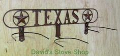 Texas Star Western Country Ranch Decor Triple Texas Cowboy Hat Rack Mihh3