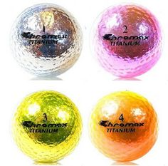 cool golf balls with patterns - Google Search