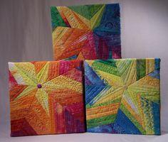 Five point star quilt blocks