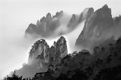 Yellow Mountain by Yueheng Duan (段岳衡)