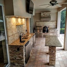 More click [.] Fancy Modern Outdoor Kitchen Design Ideas Cabinets Full Patio Kitchen With Island Homebnc 27 Best Outdoor Kitchen Ideas And Designs For 2019 Modern Outdoor Kitchen, Outdoor Kitchen Countertops, Outdoor Kitchen Bars, Backyard Kitchen, Backyard Patio, Outdoor Living, Outdoor Kitchens, Rustic Outdoor, Back Patio Kitchen Ideas