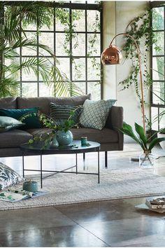 Rund glasvas - Klarglas/Guld - Home All   H&M SE