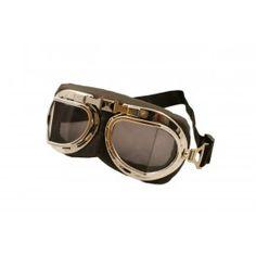 Lunettes Goggles Steampunk Aviateur Rétro