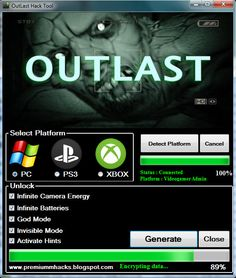Outlast 2 CD Key Generator 2016 Full Game