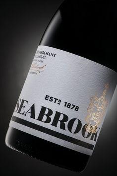 Seabrook Wine Label