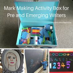 Arthurwears: Mark making activity box for pre-writing and emerg...