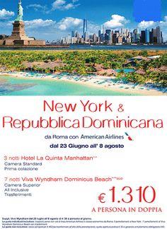 JLAND TRAVEL: SPECIALE NEW YORK E REPUBBLICA DOMINICANA DA ROMA ...