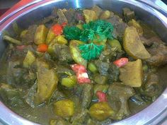 I need the recipe, not just a picture.  I miss this!  Chicken Curry #Guyanese Food