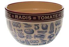 Legumes Mixing Bowl, Large on OneKingsLane.com