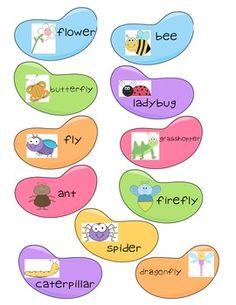 Jellybean syllable sort