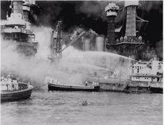 World War II in Europe Timeline: December 7, 1941 - Japanese Bomb Pearl Harbor