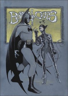Bats and Cats by Travis Charest