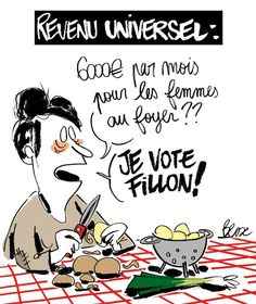 Le journal de BORIS VICTOR : REVENU UNIVERSEL .....JE VOTE FILLON !