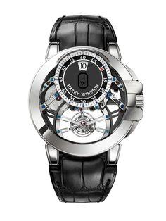 Harry Winston Ocean Tourbillon Jumping Hour #luxury #watch