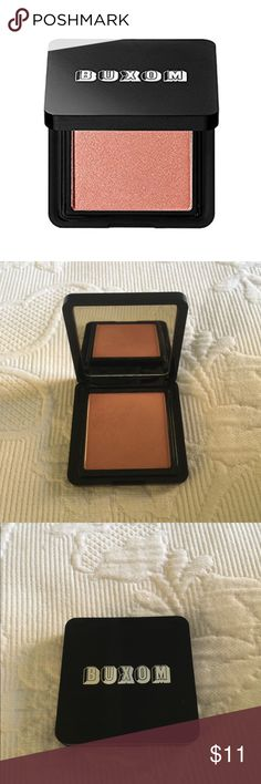 Brand New Buxom True Hue Blush in Levitate Brand New Buxom True Hue Blush in 'Levitate'  Silky, sheer ultra-buildable Blush   Perfect everyday pinky nude   *Brand New, without box Buxom Makeup Blush