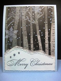 Holiday Card Worshop Day 7 Stampin' Up! 1
