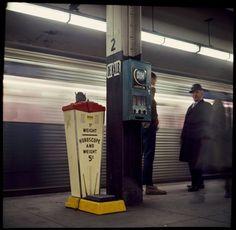 Danny Lyon. Subway NY 1960