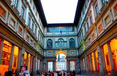 The Uffizi Gallery, Florence - where I truly fell in love with art and Raphael in particular. The Birth Of Venus, Famous Art, Italian Renaissance, Florence Italy, Florence Art, Beautiful Architecture, Architecture Art, Toscana, Italy Travel