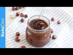 Low-Carb Chocolate Hazelnut Spread aka Keto Nutella | The KetoDiet Blog